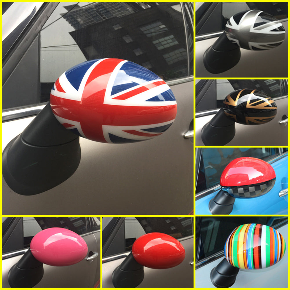 Rear View Mirror Covers Stickers  R55 R56 R57 R58 R59 R60 R61