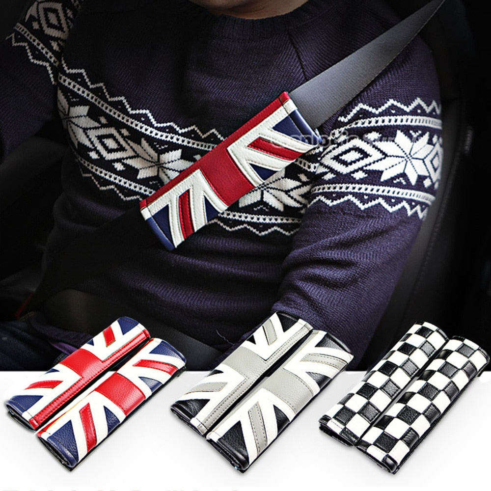 Mini Cooper Seat Belt Cover