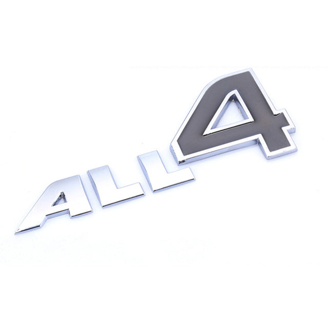 All 4 Car Body Side Emblem.