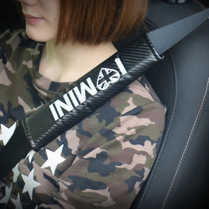 Carbon Fiber Seat Belt Padding Shoulders Protector