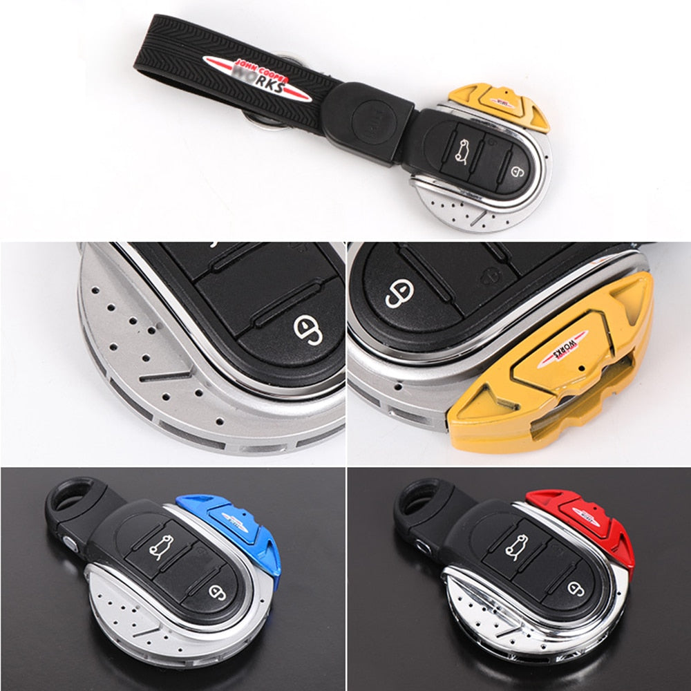 Mini Cooper Car Key Cap JCW Brakes.