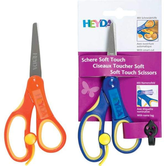 Kinderschere Heyda softtouchplus 13,5cm