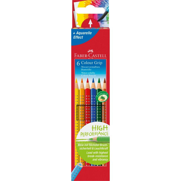 STABILO Farbstifte Colour Grip 6er-Pack