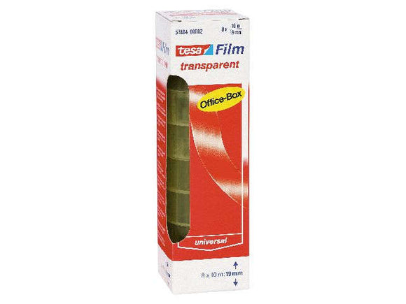 Klebefilm 19mm x 10m transparent 8er-Set