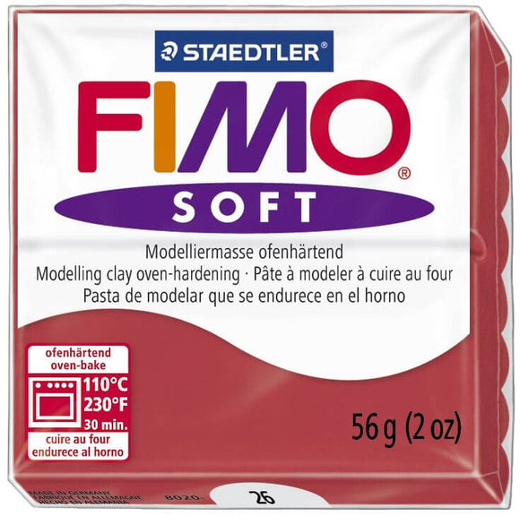 FIMO Modelliermasse Rot Staedtler