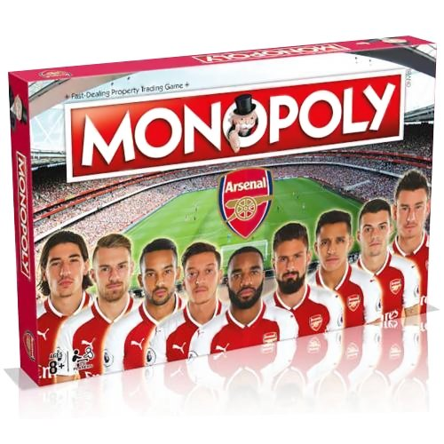 Arsenal F.C. Edition Monopoly - AOT Sports