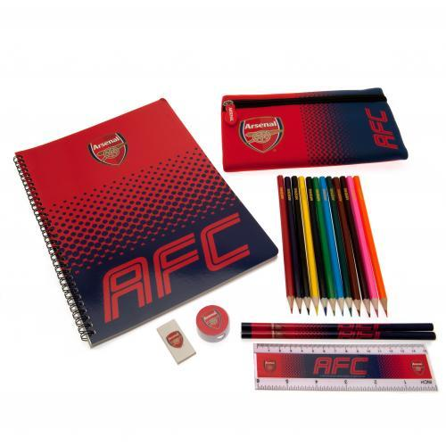 Arsenal F.C. Ultimate Stationery Set - AOT Sports
