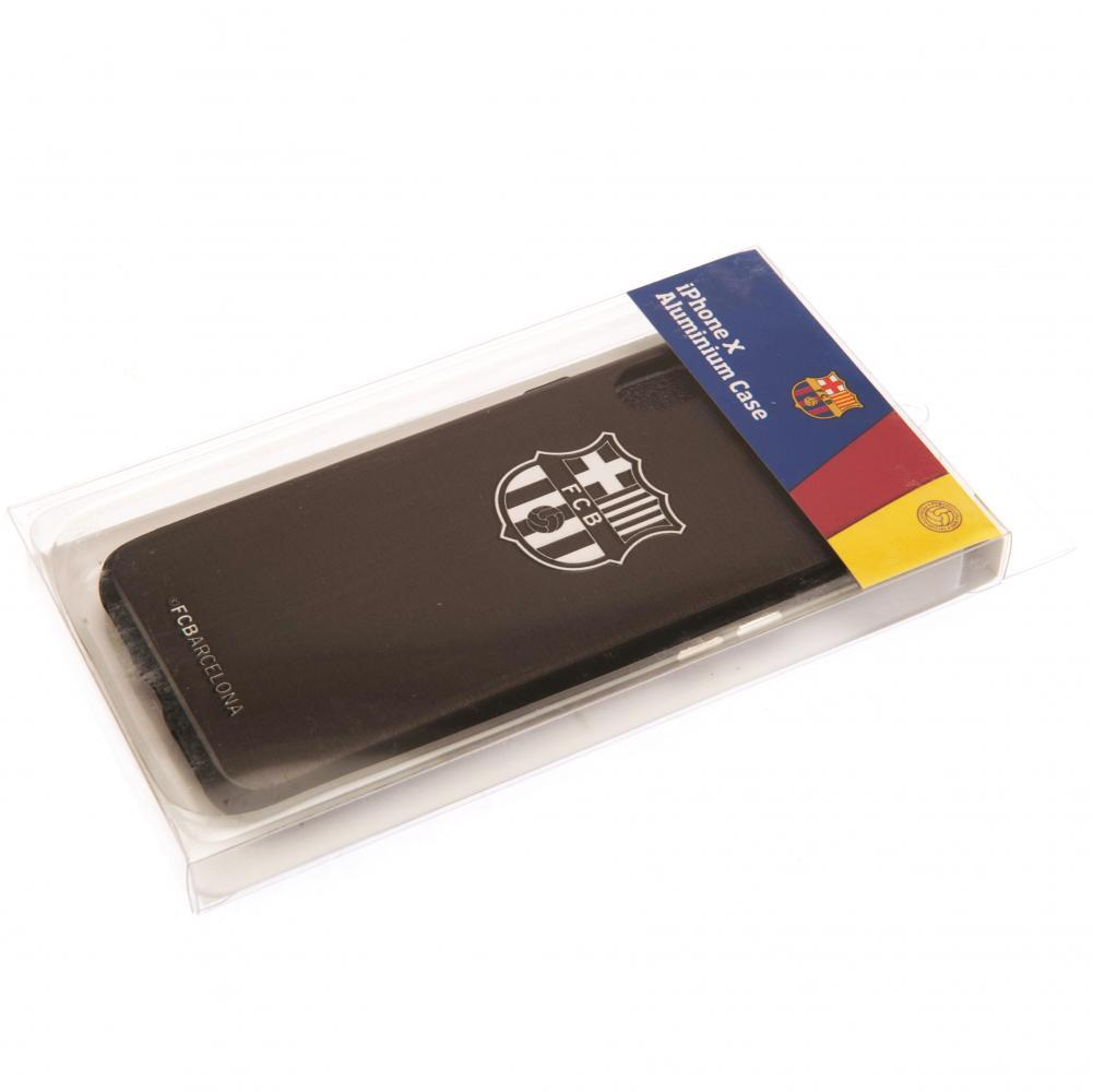 F.C. Barcelona iPhone X Aluminium Case - AOT Sports