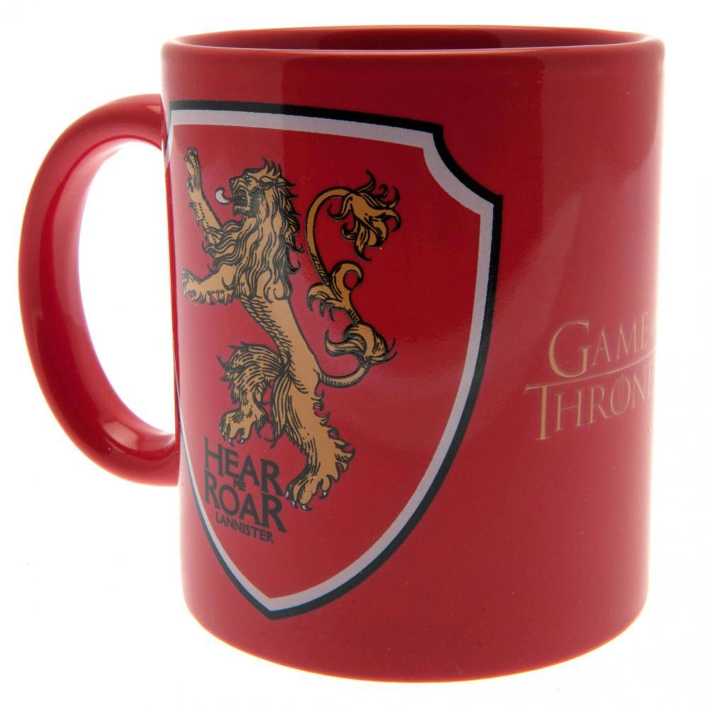 Game Of Thrones Mug & Coaster Set Lannister - AOT Sports