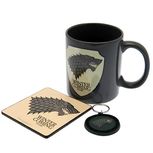 Game Of Thrones Mug & Coaster Set Stark - AOT Sports