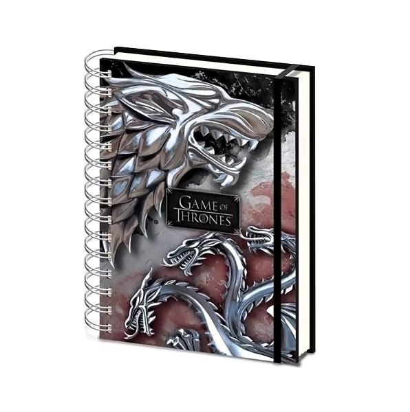 Game Of Thrones Notebook - AOT Sports
