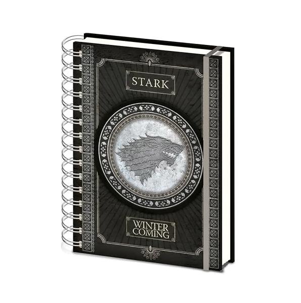 Game Of Thrones Notebook Stark - AOT Sports