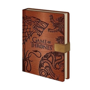 Game Of Thrones Premium Notebook - AOT Sports