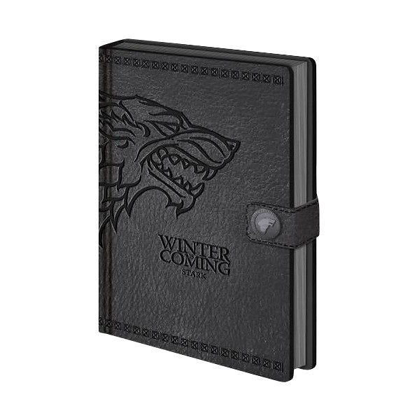 Game Of Thrones Premium Notebook Stark - AOT Sports