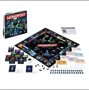 Halo Edition Monopoly - AOT Sports