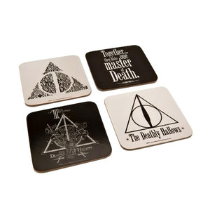 Harry Potter Coaster Set Deathly Hallows - AOT Sports