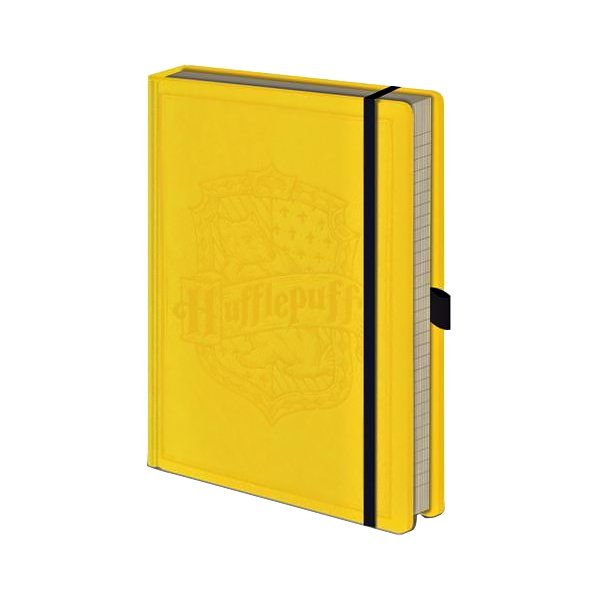 Harry Potter Premium Notebook Hufflepuff - AOT Sports