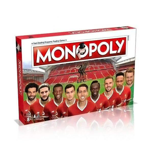 Liverpool F.C. Edition Monopoly - AOT Sports
