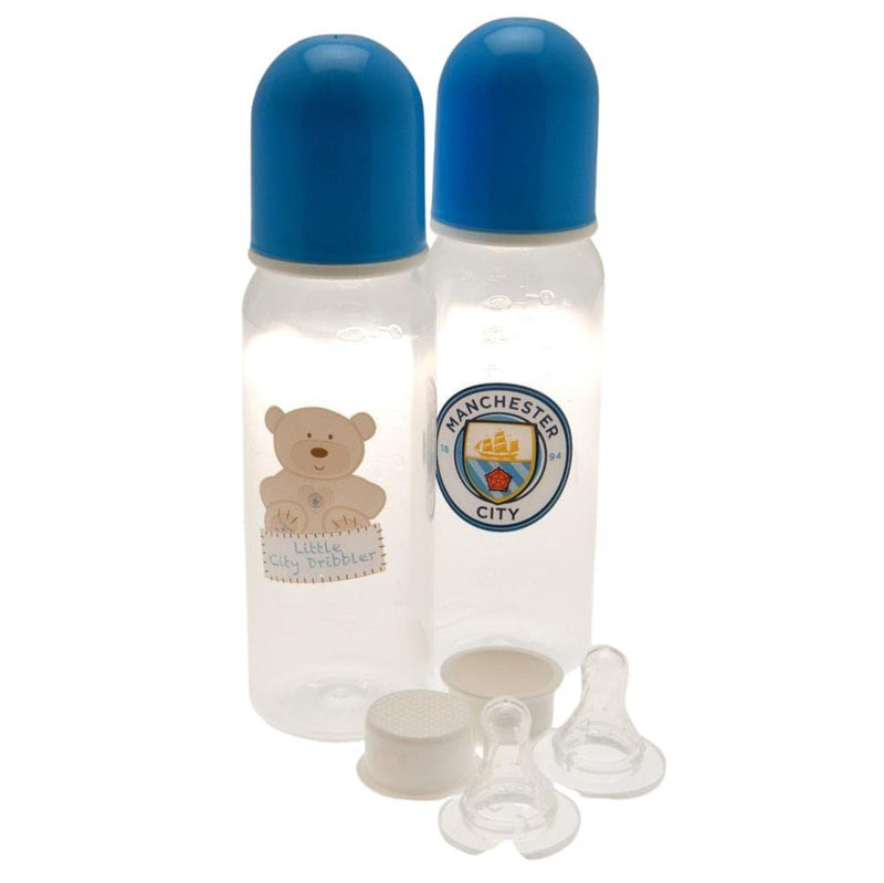 Manchester City F.C. 2pk Feeding Bottles - AOT Sports