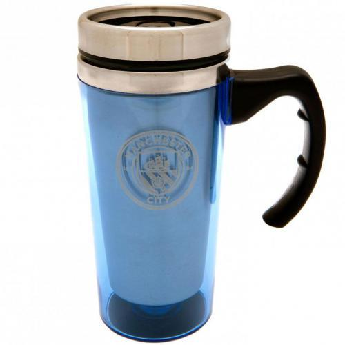 Manchester City F.C. Aluminium Travel Mug - AOT Sports