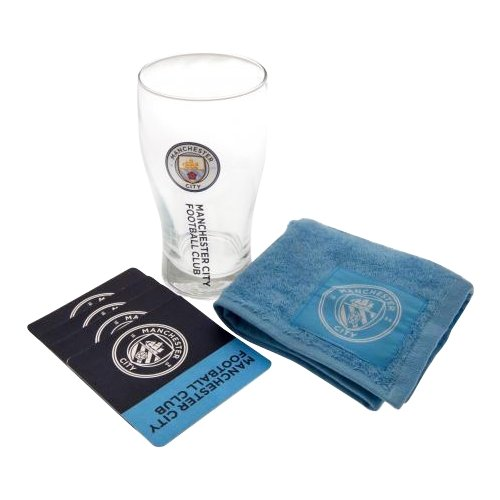 Manchester City F.C. Mini Bar Set - AOT Sports