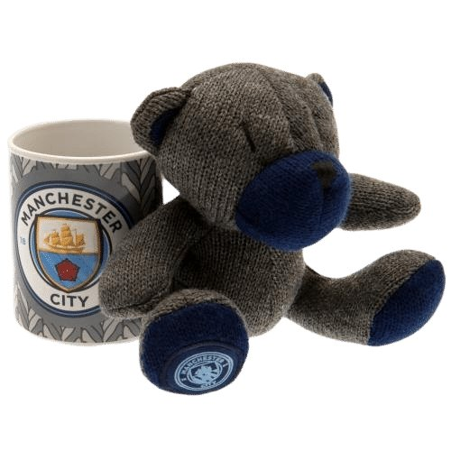 Manchester City F.C. Mug & Bear Set - AOT Sports