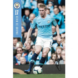 Manchester City F.C. Poster De Bruyne 70 - AOT Sports