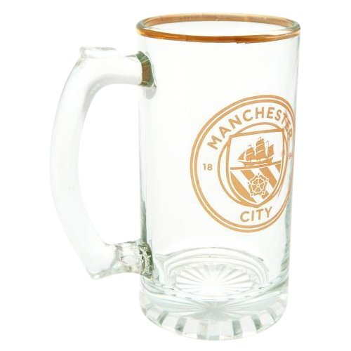 Manchester City F.C. Stein Glass Tankard - AOT Sports