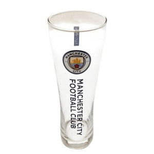 Manchester City F.C. Tall Beer Glass - AOT Sports
