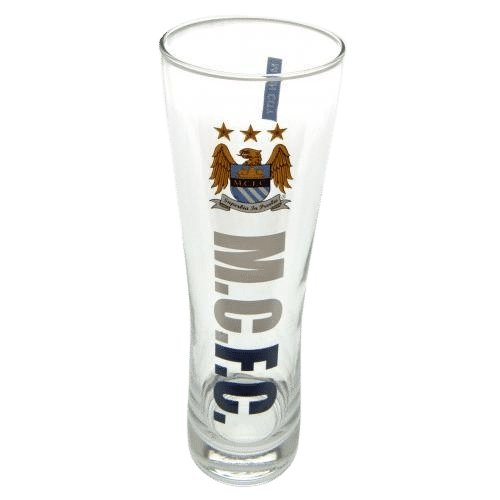 Manchester City F.C. Tall Beer Glass EC - AOT Sports