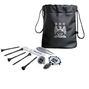 Manchester City F.C. Tote Bag Golf Gift Set - AOT Sports