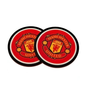 Manchester United F.C. 2pk Coaster Set - AOT Sports