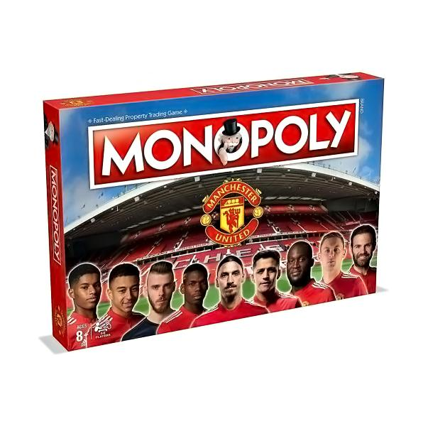 Manchester United F.C. Edition Monopoly - AOT Sports