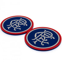 Rangers F.C. 2pk Coaster Set - AOT Sports