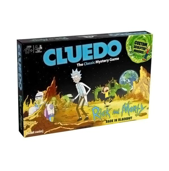 Rick And Morty Edition Cluedo - AOT Sports