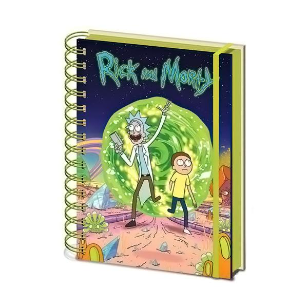 Rick And Morty Notebook - AOT Sports