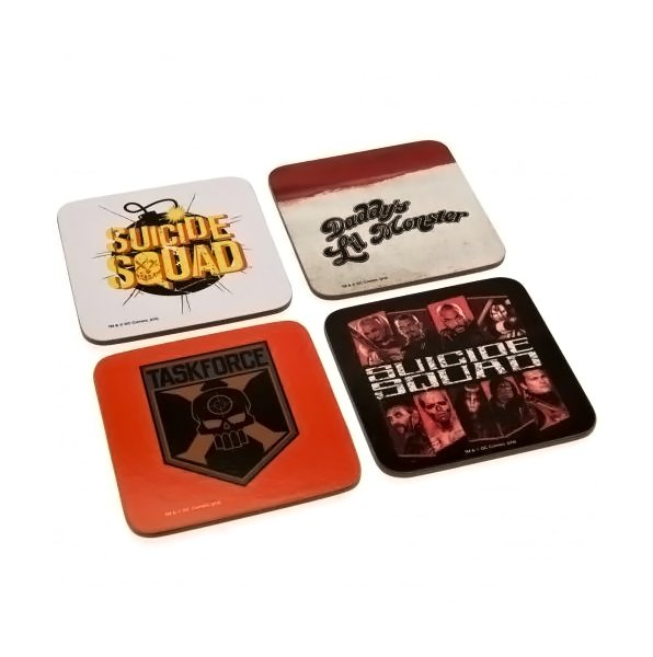 Suicide Squad Coaster Set - AOT Sports
