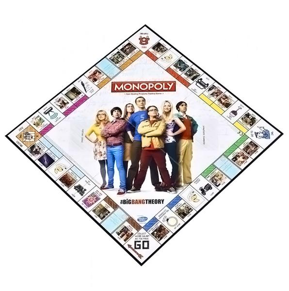 The Big Bang Theory Edition Monopoly - AOT Sports