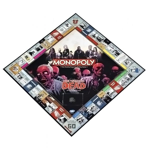 The Walking Dead Edition Monopoly - AOT Sports
