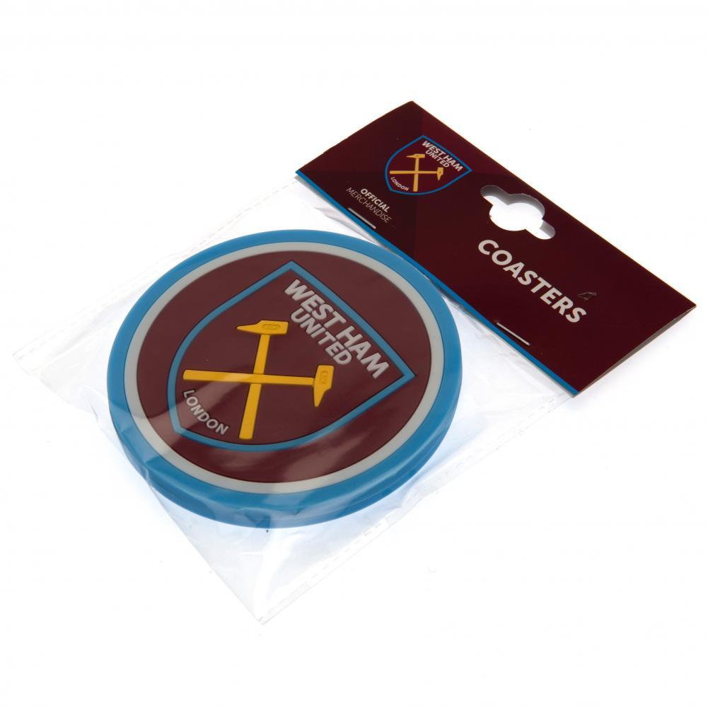 West Ham United F.C. 2pk Coaster Set - AOT Sports