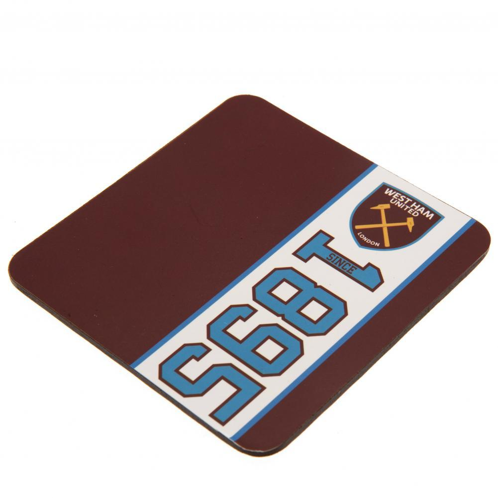 West Ham United F.C. Mug & Coaster Set - AOT Sports