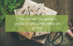 The Urban Gardener's guide to gifts that keep on giving