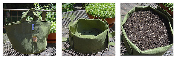 Fold a Root Pouch Grow Bag