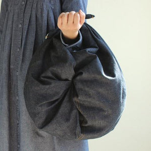 Fashionable Soft Denim Furoshiki Wrapping