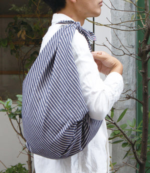 Furoshiki: Soft Denim Range - Traditional multi-purpose no plastic wrapping solution