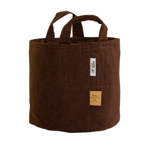 Root Pouch Handle Brown Grow Bag