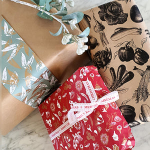 Gift Wrapping with Hand-Written Card