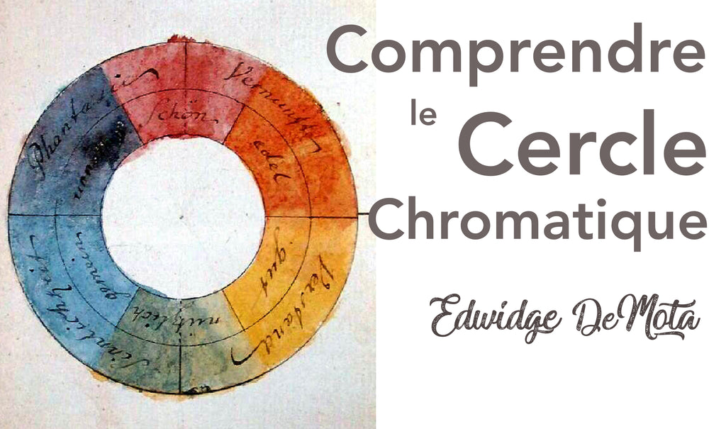 Comprendre le cercle chromatique