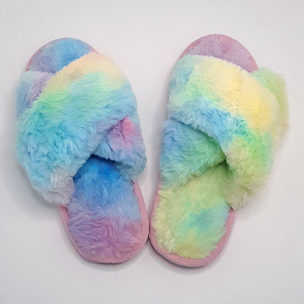 Get Groovy Tie-Dye Slippers (Available in 2 Colors)