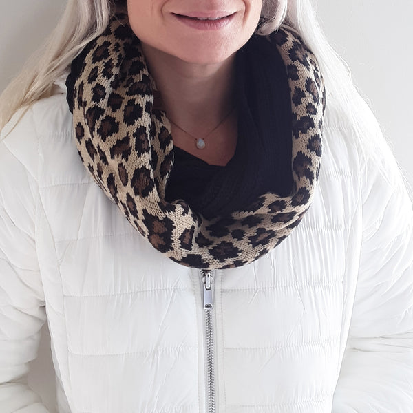 The Leopard Print Infinity Scarf
